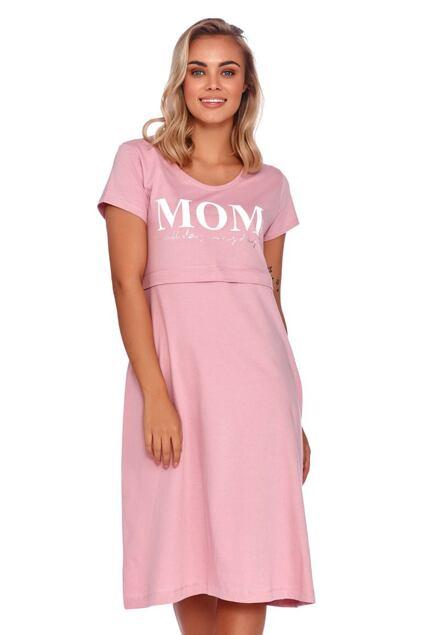 Cămașă de noapte maternă Harmony roz