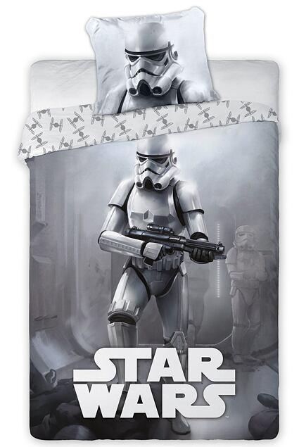 Lenjerie de pat pentru copii Star Wars - Stormtrooper