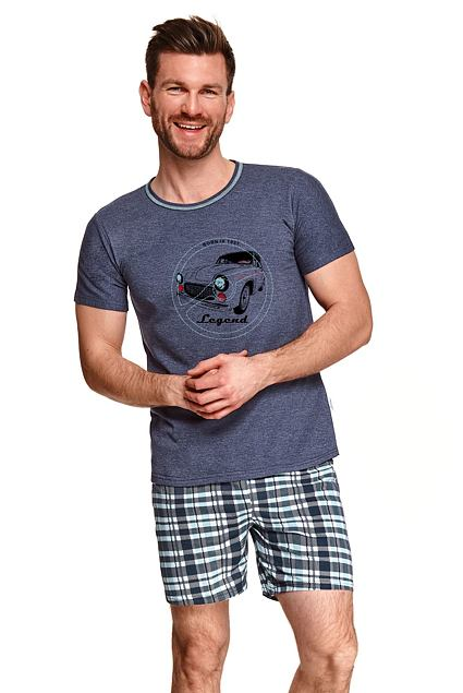 Pijama bărbați Simon albastru închis