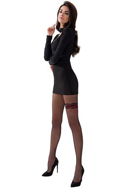 Ciorapi  cu model TI024 negri