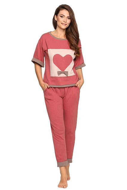 Pijama pentru femei Chantele roz
