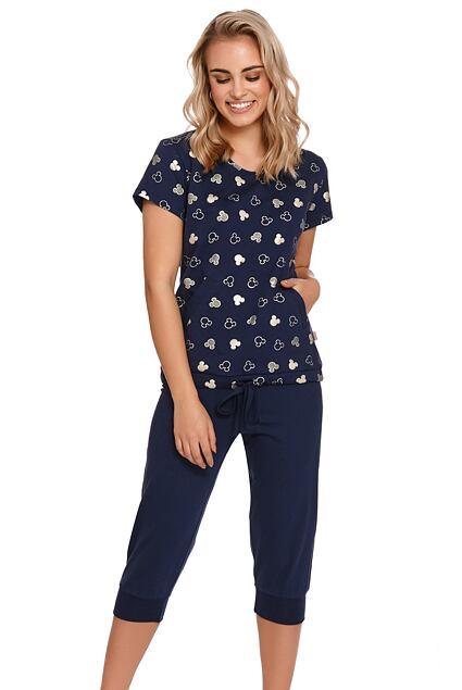 Bio pijama Penny albastru închis