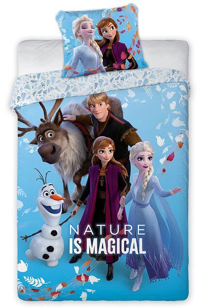 Lenjerie de pat pentru copii Ice Kingdom 2 - natura magică