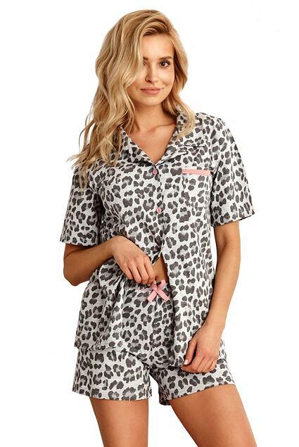 Pijama de damă Amy gri